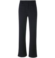Helmut Lang Ribbed Flare Trousers