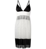 La Perla Leisuring Lace Fringed Hem Dress