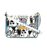 Lanvin Jiji Sketch Print Shoulder Bag