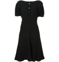 Marc Jacobs Buttoned Flared Dress