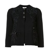 Marc Jacobs Floral Embroidered Cardigan