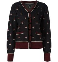 Marc Jacobs Flower Patterned Cardigan