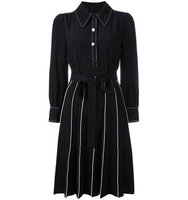Marc Jacobs Piped A Line Shirt Dress