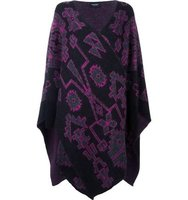 Marcelo Burlon County Of Milan Anecon Poncho