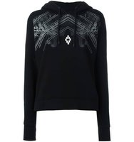 Marcelo Burlon County Of Milan Tiger Print Hoodie