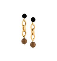 Marni Oversized Chain Clip On Earrings
