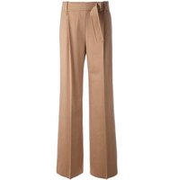 Max Mara Belted Straight Trousers