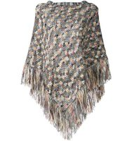 Missoni Textured Knit Poncho