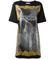 Moschino Broken Mirror T Shirt Dress