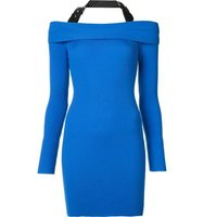 Moschino Halterneck Knitted Dress