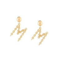 Moschino M Clip On Earrings