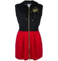 Moschino Sleeveless Hooded Dress