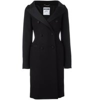 Moschino Slim Fit Double Breasted Coat