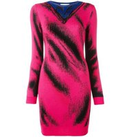 Moschino Trompe Loeil Knitted Dress