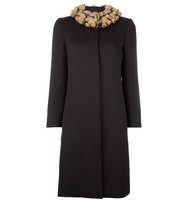 Moschino Vintage Teddy Bear Collar Coat