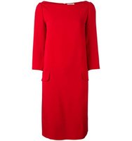 Nina Ricci Boat Neck Shift Dress