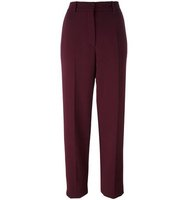 Nina Ricci Creased Straight Trousers