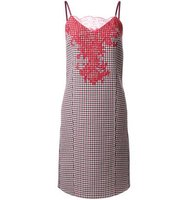 Nina Ricci Double Face Check Dress