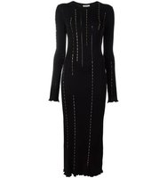 Nina Ricci Embellished Longsleeved Dress