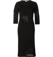 Nina Ricci Knit Fitted Dress