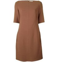 Nina Ricci Knitted Boat Neck Dress