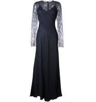 Nina Ricci Lace Detail Overlay Dress