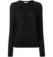 Nina Ricci Pleated Neck Pullover