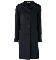 Nina Ricci Pleated Sleeve Coat