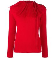 Nina Ricci Removable Pleat Collar Jumper