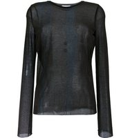Nina Ricci Sheer Longsleeved T Shirt