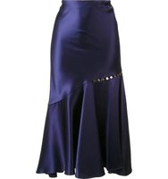 Prabal Gurung Ruffled Hem Skirt