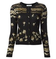 Prabal Gurung Sequin Embroidery Cardigan