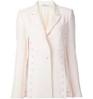 Prabal Gurung Tonal Button Detail Blazer