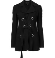 Proenza Schouler Lace Up Front Jacket