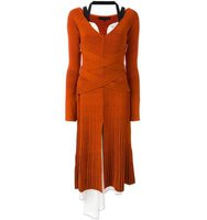 Proenza Schouler Layered Ribbed Knit Dress