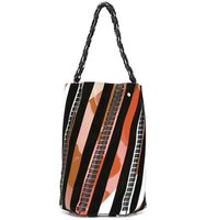 Proenza Schouler Medium Hex Striped Bucket Bag