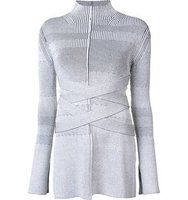 Proenza Schouler Turtleneck Bandage Knit Sweater
