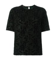 Rochas Embroidered T Shirt