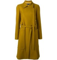 Rochas Patch Pocket Trench Coat
