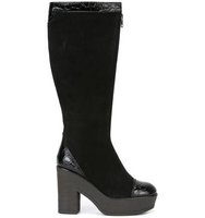 See By Chloe Embossed Detail High Boots