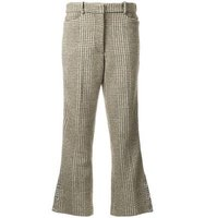 Simone Rocha Houndstooth Flared Trousers