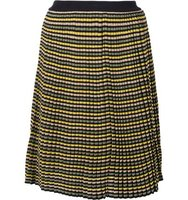 Sonia Rykiel A Line Striped Skirt