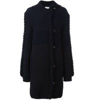 Sonia Rykiel Braid Knit Cardi Coat