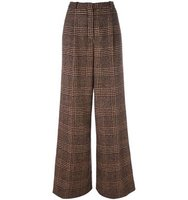 Sonia Rykiel Checked Tweed Trousers