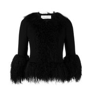 Sonia Rykiel Cropped Fur Jacket