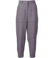 Sonia Rykiel Cropped Tweed Trousers