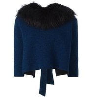 Sonia Rykiel Fur Collar Jumper