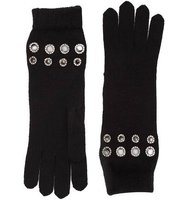 Sonia Rykiel Grommet Detailed Gloves