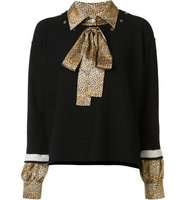 Sonia Rykiel Jumper With Shirt Underlay