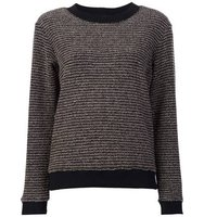 Sonia Rykiel Round Neck Striped Jumper